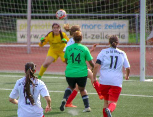 Frauen-Team holt den ersten Punkt – 0:0 gegen SV 08 Rheydt