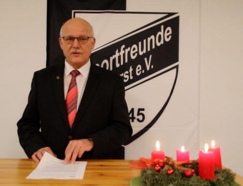 Weihnachtsrede unseres 1. Vorsitzenden Michael Börgers