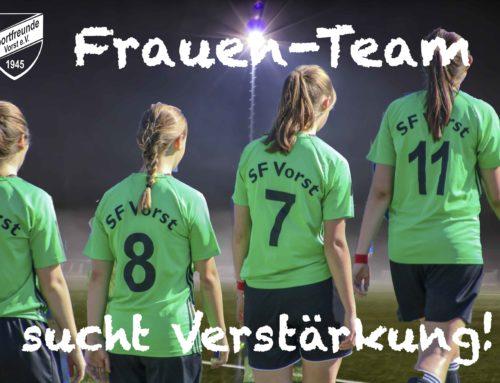 Unser Frauen-Team sucht Mitspielerinnen!