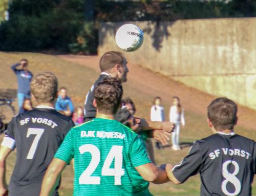 Sportfreunde-Teams müssen gegen Novesia punkten