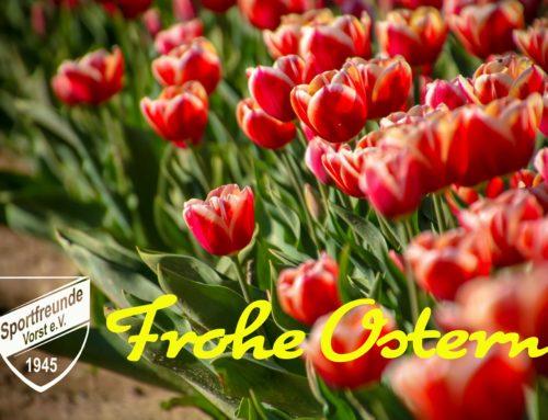 Die Sportfreunde wünschen Euch Frohe Ostern!