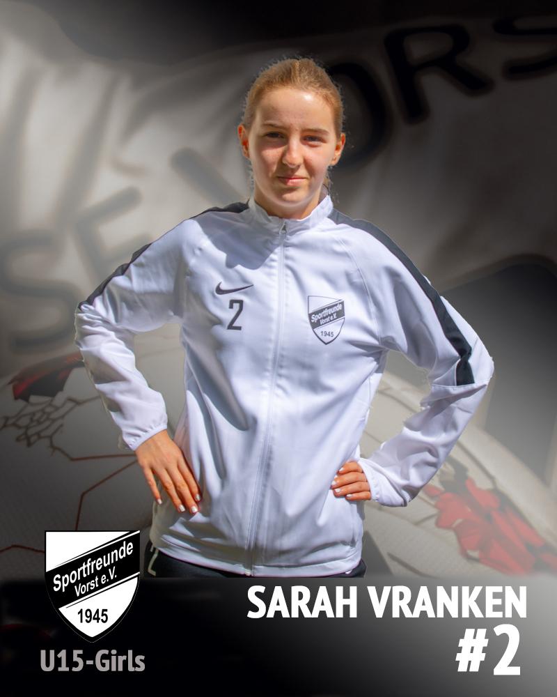 Sarah Vranken