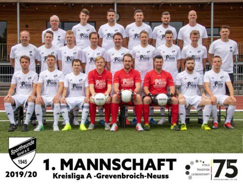 1. Mannschaft – Saison 2019/2020