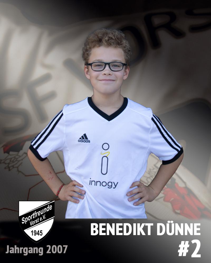 Benedikt Dünne