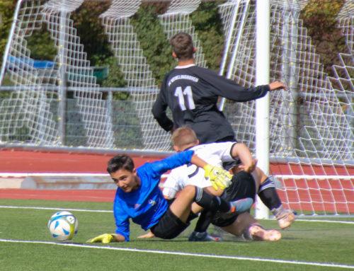U17 siegt 2:1 – Torwart Brückmann hält drei Punkte fest, Kempin trifft doppelt!