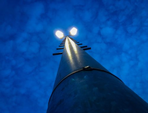 Neues Flutlicht für den Sportpark Vorst