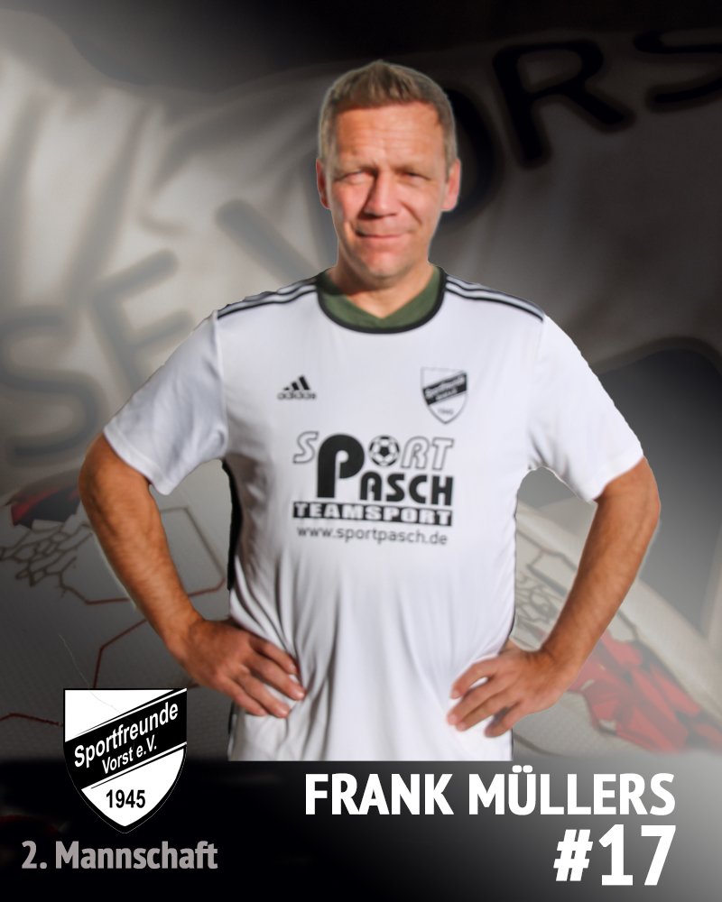 Frank Müllers