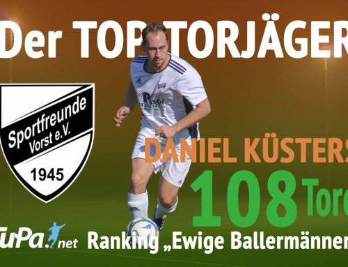 Trotz Ladehemmung bleibt Daniel Küsters der Top-Torjäger