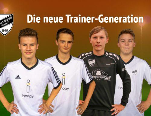 Die neue Trainer-Generation
