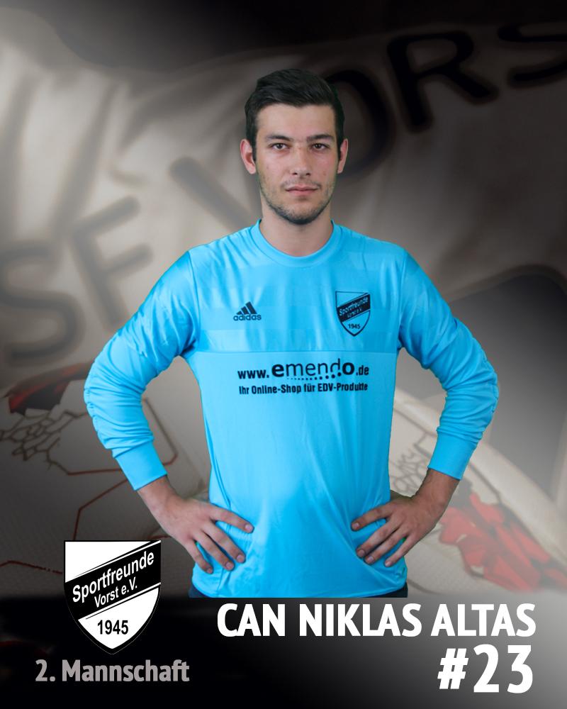 Can Niklas Altas