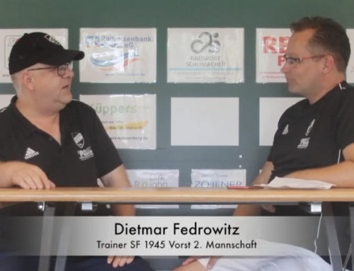 Reserve-Coach Fedrowitz im Sommer-Interview