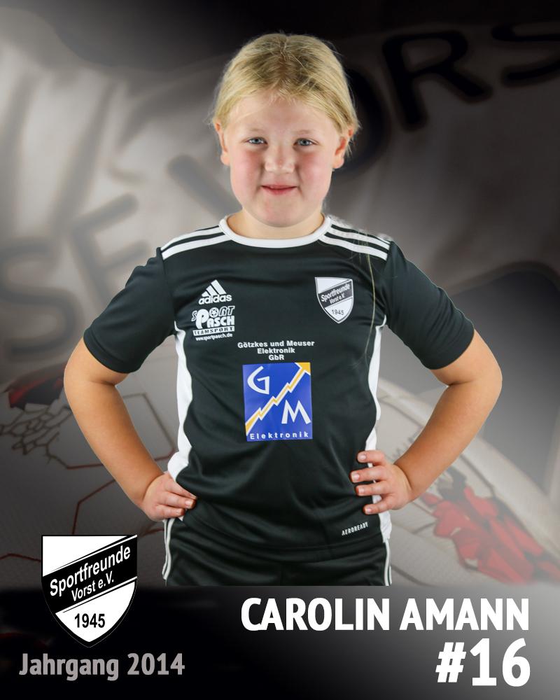 Carolin Amann