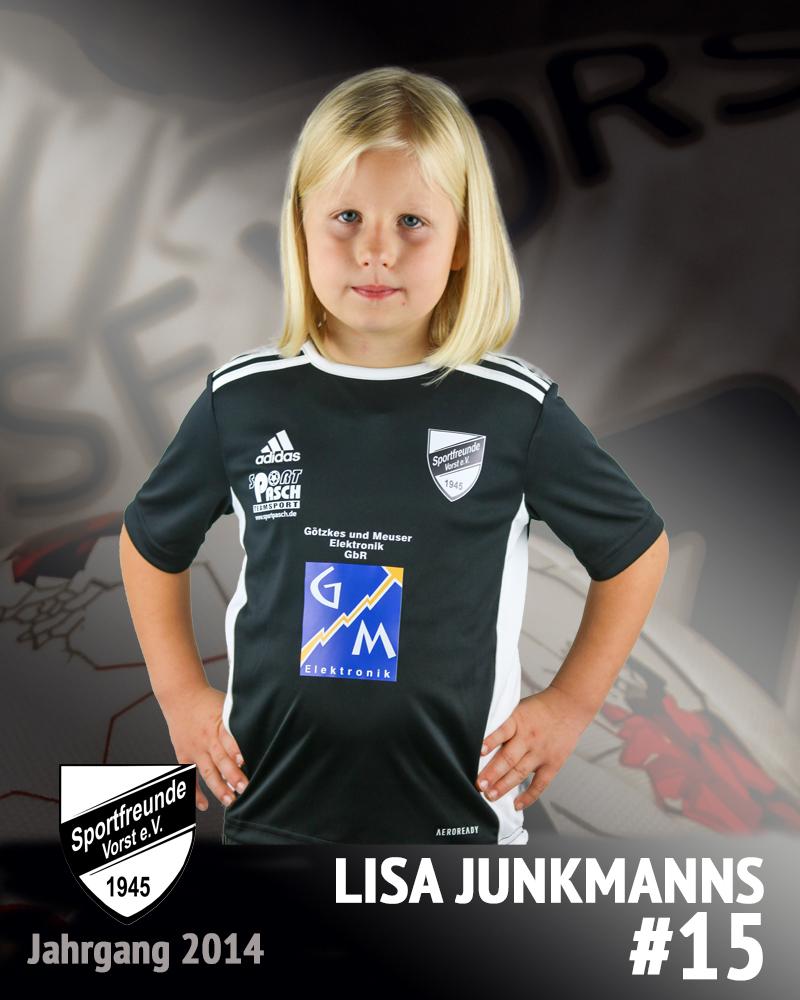 Lisa Junkmanns