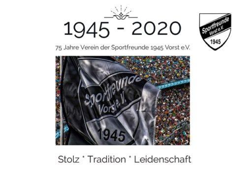 Die Sportfreunde werden heute 75 Jahre jung!