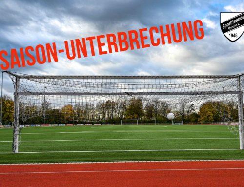 Fußball-Verband unterbricht Saison!