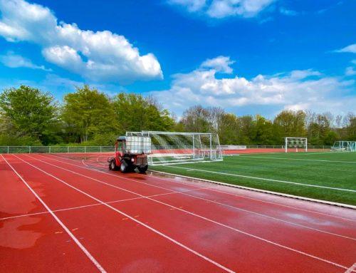 Frühjahrsputz im Sportpark Vorst