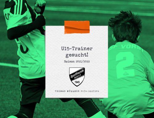 Deine Chance – C-Jugend-Coach