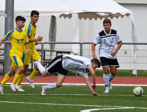 U19 hat noch Sand im Getriebe – 2:7 gegen Teutonia