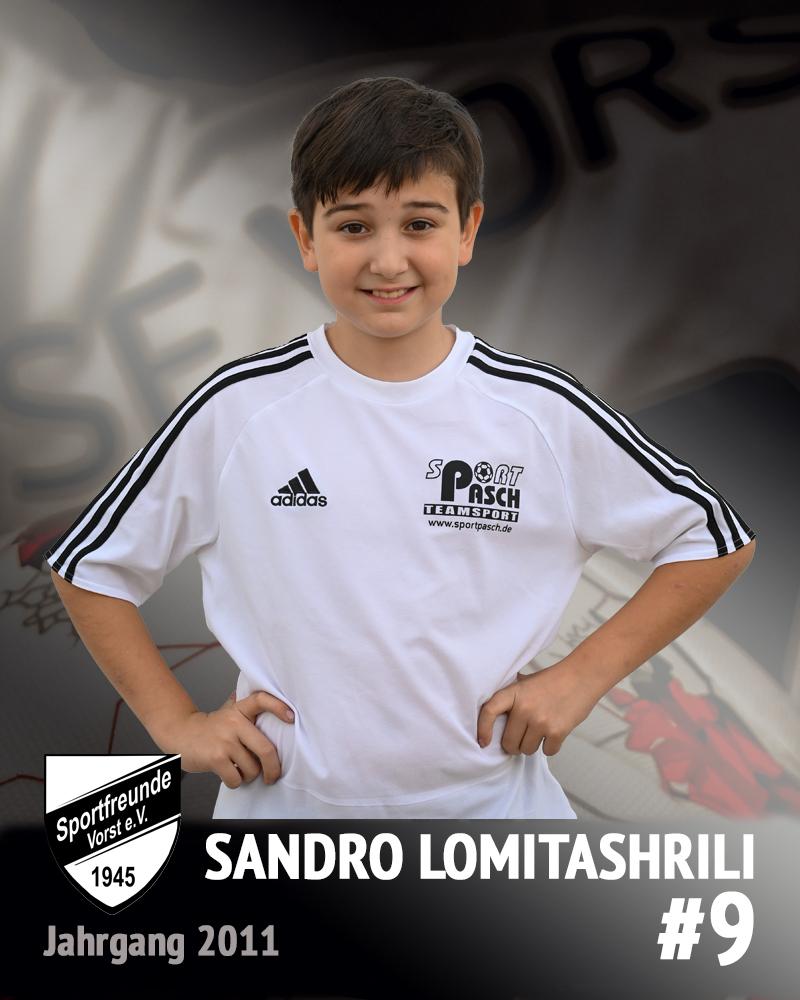 Sandro Lomitashrili
