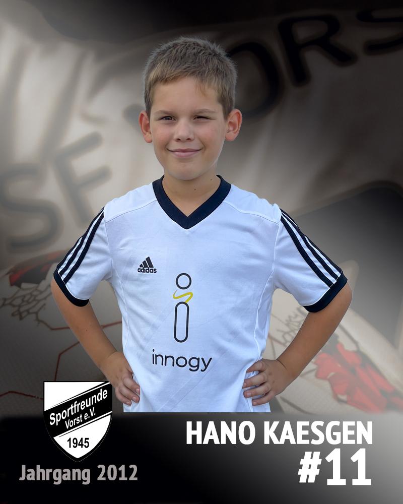 Hanno Kaesgen