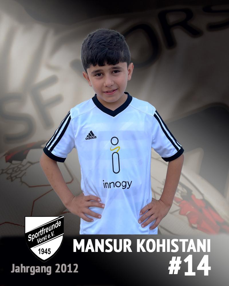 Mansur Kohestani