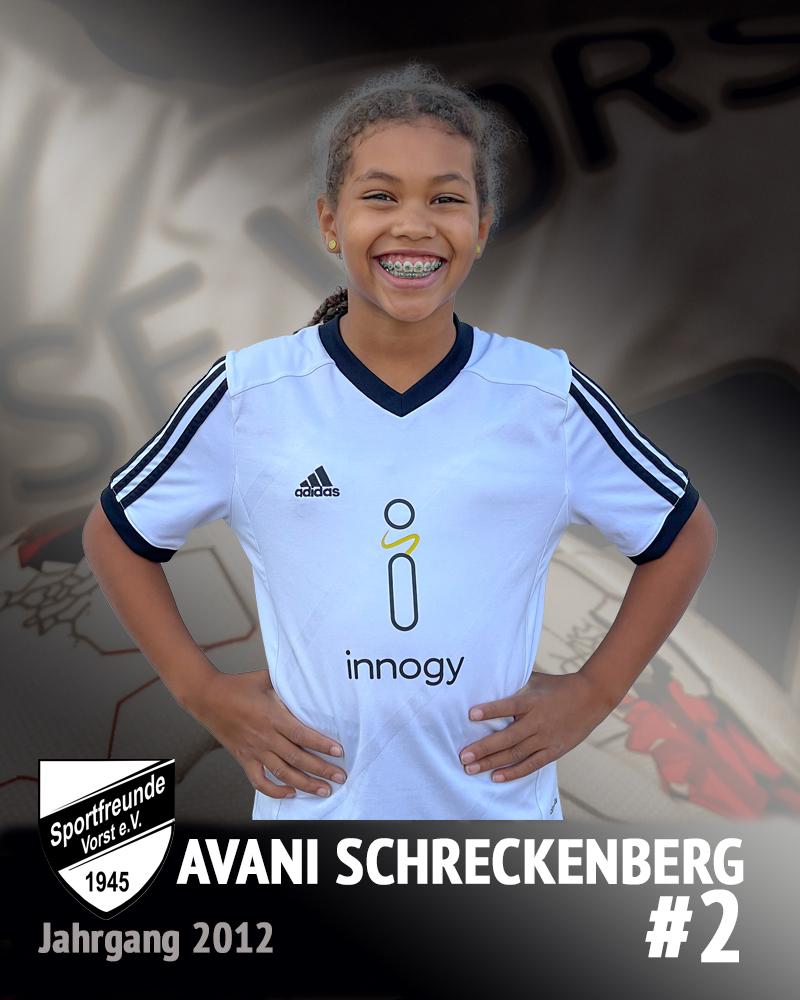 Avani Schreckenberg