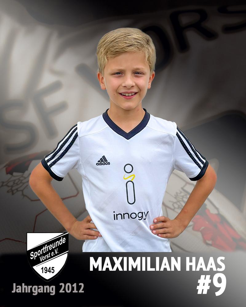 Maximlian Haas