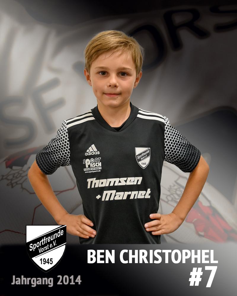 Ben Christophel