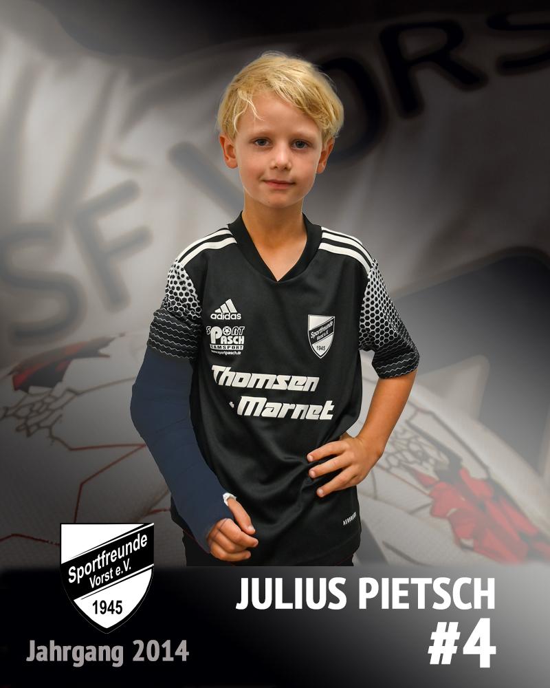 Julius Pietsch