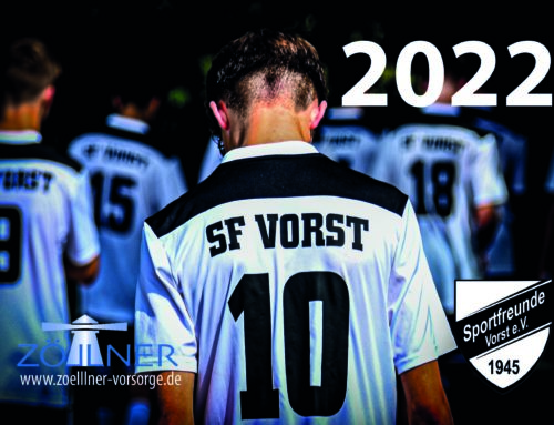 Der Sportfreunde-Kalender 2022 kommt Anfang November